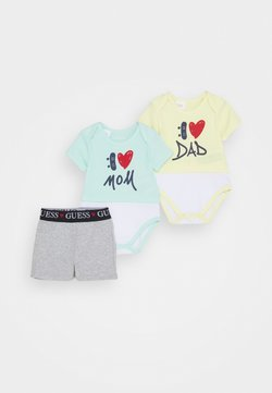 Guess - SET BODY AND SHORTS - Body - mint multi