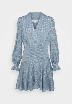Forever New - DOBBY DRESS - Cocktailkleid/festliches Kleid - blue