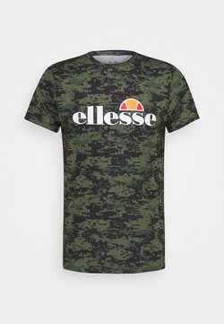 Ellesse - PALLONE - T-shirt con stampa - green