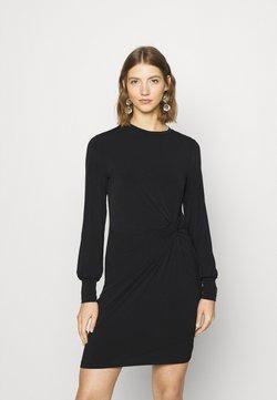 Vero Moda - VMTWISTED KNOT SHORT DRESS - Vestido ligero - black