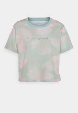 Columbia - PARK™ BOX TEE - T-Shirt print - aqua tone