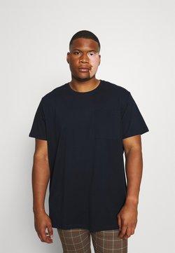 Esprit - PEACH  - T-shirts - navy