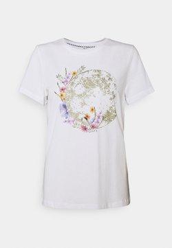 ONLY - ONLKITA LIFE PLANET - T-Shirt print - white