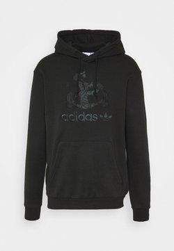 adidas Originals - GOOFY HOODY - Huppari - black