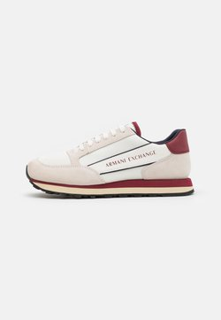Armani Exchange - OSAKA  - Sneaker low - beige/red