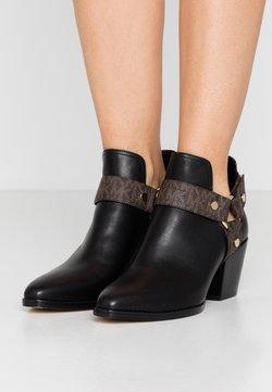 MICHAEL Michael Kors - PAMELA - Ankle Boot - black/brown