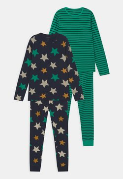 Name it - NKMNIGHTSET STRIPE 2 PACK - Pijama - dark sapphire