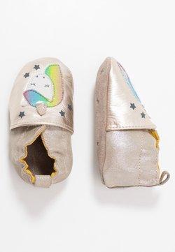 Robeez - CUT UNICORN - Chaussons pour bébé - beige metal