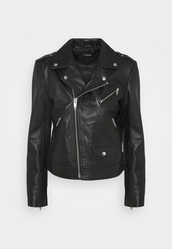 The Kooples - JACKET - Nahkatakki - black