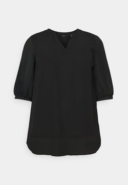 Vero Moda Curve - VMINGA TUNIC  - Tunika - black