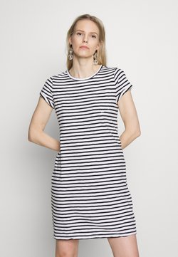 GAP - TEE DRESS - Jersey dress - black/white