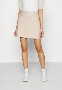 Monki - RIVER SKIRT - Minirock - beige