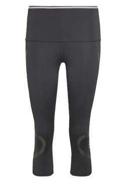 adidas by Stella McCartney - TRUEPACE 3/4 LEGGINGS - Tights - black