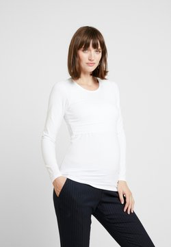 Boob - CLASSIC LONG SLEEVED - Camiseta de manga larga - white