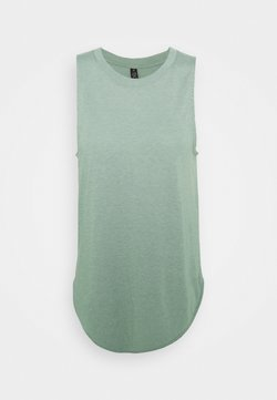 Cotton On Body - ACTIVE CURVE HEM TANK - Top - desert sage