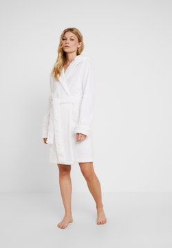 Cotton On Body - HOODED LUXE PLUSH GOWN - Badjas - white