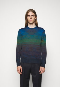 Missoni - LONG SLEEVE CREW NECK - Trui - dark blue