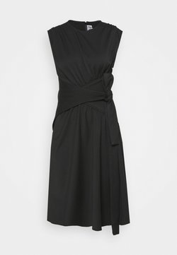 Victoria Victoria Beckham - WRAPPED WAIST DRESS - Cocktailkleid/festliches Kleid - black