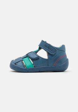 Kickers - WASABOU - Riemensandalette - bleu/vert