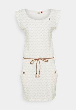 Ragwear - TAG CHEVRON - Vestido ligero - off white