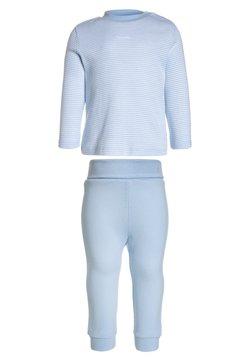 Sanetta - LONG BASIC RINGEL BABY - Pyjama - softblue