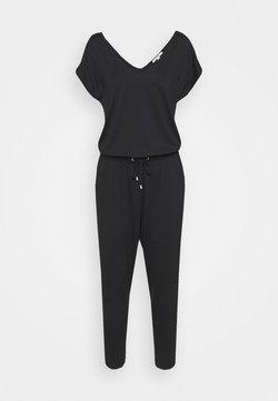 Esprit - OVERALL  - Jumpsuit - black