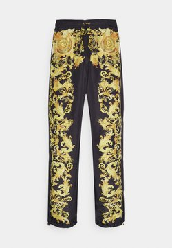 Versace Jeans Couture - PRINT BAROQUE - Joggebukse - black