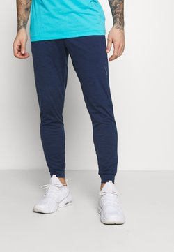 Nike Performance - PANT DRY YOGA - Jogginghose - midnight navy/dark obsidian/gray
