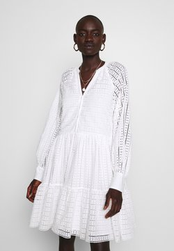 YAS Tall - YASSIA DRESS - Blousejurk - star white