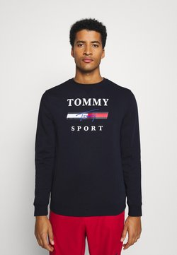 Tommy Hilfiger - GRAPHIC CREW - Collegepaita - blue