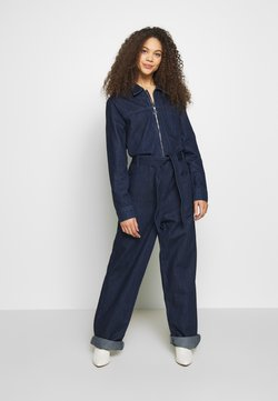 Selected Femme Petite - SLFDANA DARK - Combinaison - dark blue denim