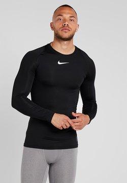 Nike Performance - PRO COMPRESSION - Unterhemd/-shirt - black/white