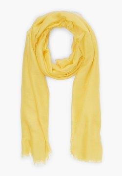 s.Oliver - MIT FRANSEN - Écharpe - yellow