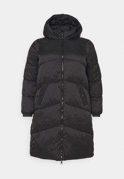 Vero Moda Curve - VMUPSALA LONG JACKET CURVE - Winter coat - black