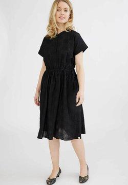 GROBUND - VIGGA - Skjortklänning - black