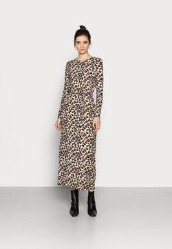 Vero Moda Tall - VMNAVA TIE ANKLE DRESS - Maxikleid - silver mink