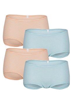 Blue Moon - 4ER-PACK - Panties - türkis,apricot