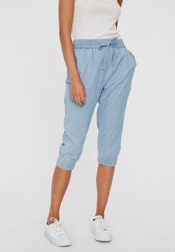 Vero Moda - Jeansshort - light blue denim