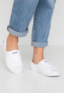 Lacoste - ZIANE BL 1 CFA - Sneakersy niskie - white