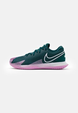 Nike Performance - AIR ZOOM VAPOR CAGE 4 - Scarpe da tennis per tutte le superfici - dark atomic teal/white/beyond pink
