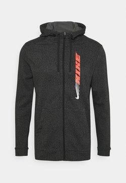 Nike Performance - DRY ENERGY - Felpa aperta - black/bright crimson