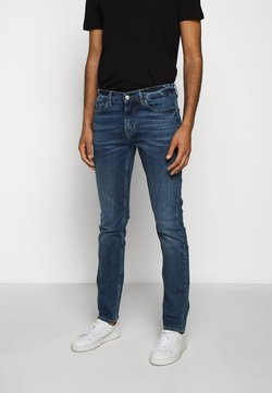 7 for all mankind - RONNIE OFFICER - Jeans Slim Fit - mid blue