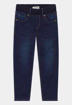 Lindex - MINI EDVIN PULL ON - Slim fit jeans - dark denim