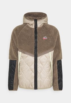 Nike Sportswear - WINTER - Winterjacke - olive grey/mystic stone/life lime