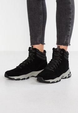 Skechers - D'LITES - Botines con cordones - black