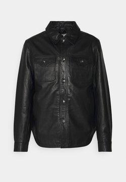 Tiger of Sweden - Leather jacket - black