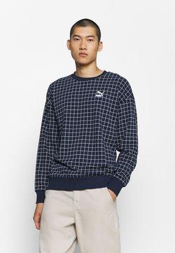 Puma - RECHECK PACK CREW  - Sweatshirt - dress blues