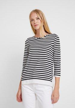 Esprit Collection - STRIPED - Langarmshirt - black