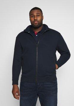 TOM TAILOR MEN PLUS - veste en sweat zippée - sky captain blue