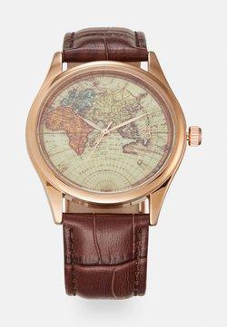 CHPO - VINTAGE WORLD - Rannekello - rose gold-coloured/brown